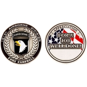 Challenge Coin Fort Campbell Coin