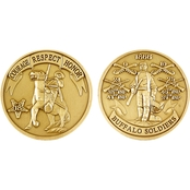 Challenge Coin Buffalo Soldier Coin