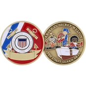 Challenge Coin Coast Guard Brat Coin