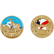 Challenge Coin Fort Lewis 3 Coin