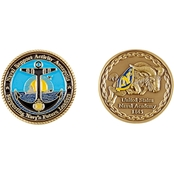 Challenge Coin Naval Support Annapolis Coin