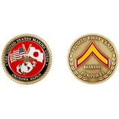 Challenge Coin Okinawa Private First Class Coin