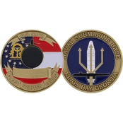 Challenge Coin NSB Kings Bay Coin