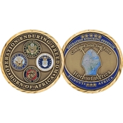Challenge Coin Operation Enduring Freedom CJTF Horn of Africa Djibouti Coin