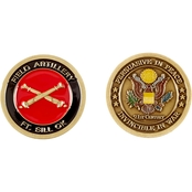 Challenge Coin Fort Sill Field Artillery Coin