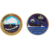 Challenge Coin Portsmouth NSY Coin