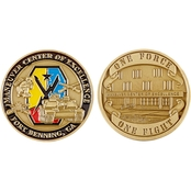 Challenge Coin Fort Benning MCOE Coin