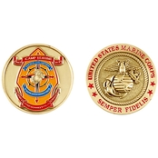 Challenge Coin Camp Lejeune Coin
