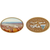 Challenge Coin NAS Brunswick Oval Coin
