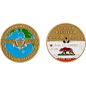 Challenge Coin NAS Lemoore Coin