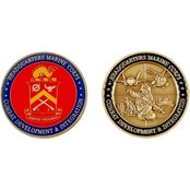 Challenge Coin Quantico CD&T Coin