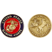 Challenge Coin Marine Mustang Coin