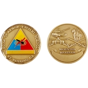 Challenge Coin Fort Benning Armor School Coin