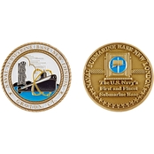 Challenge Coin Naval Submarine Base New London Coin