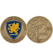 Challenge Coin Camp Grayling National Guard Coin