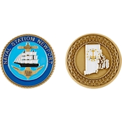 Challenge Coin Naval Station Newport Coin