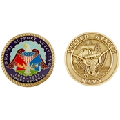 Challenge Coin NSA Athens Coin