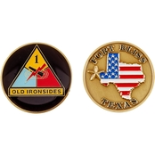 Challenge Coin Fort Bliss 1st Armored Division Coin