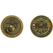 Challenge Coin K Bay MCCS Warfighters Coin