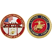 Challenge Coin Camp Fuji Combined Arms Training Center Coin