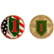 Challenge Coin Fort Riley 1st Infantry Division Coin