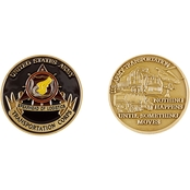 Challenge Coin Transportation Corps Coin