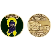 Challenge Coin Ft. Benjamin Harrison Support Coin