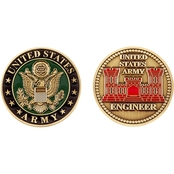 Challenge Coin Army Engineer Branch Coin