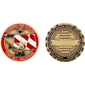 Challenge Coin Fort Sill Basic Training Graduate Coin