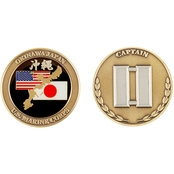 Challenge Coin USMC Captain Coin