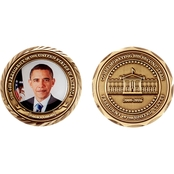 Challenge Coin Obama Second Term Coin