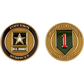Challenge Coin Fort Knox 1st Division Coin