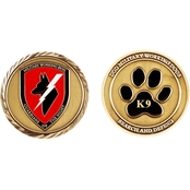 Challenge Coin Working Dogs Coin