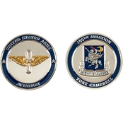 Challenge Coin Ft. Campbell 160th Aviation Coin