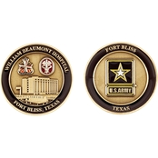 Challenge Coin Fort Bliss William Beaumont Hospital Coin