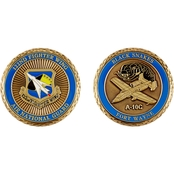 Challenge Coin Fort Wayne 122nd Blacksnakes Coin