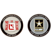 Challenge Coin Fort Knox 19th Engineer Battalion Coin