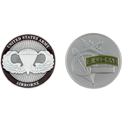 Challenge Coin Army Airborne Coin