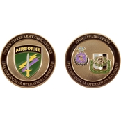 Challenge Coin Army Civil Affairs Psychological Operations Coin