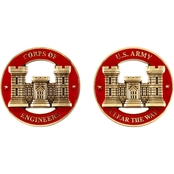 Challenge Coin Army Engineers Coin