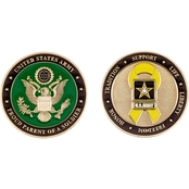 Challenge Coin Army Proud Parent Coin