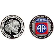 Challenge Coin 82nd Airborne Coin