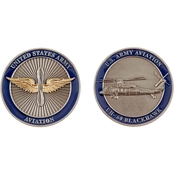 Challenge Coin Army Aviation Blackhawk Coin
