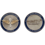 Challenge Coin Army Aviation Chinook Coin