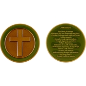 Challenge Coin Soldiers Prayer Coin