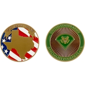 Challenge Coin Ft. Hood Specialist Fourth Class Coin