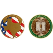 Challenge Coin Fort Hood Captain Coin