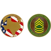 Challenge Coin Ft. Hood Master Sergeant Coin