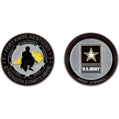 Challenge Coin Fort Knox Logo Coin
