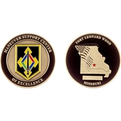 Challenge Coin Ft Leonard Wood MSC Coin